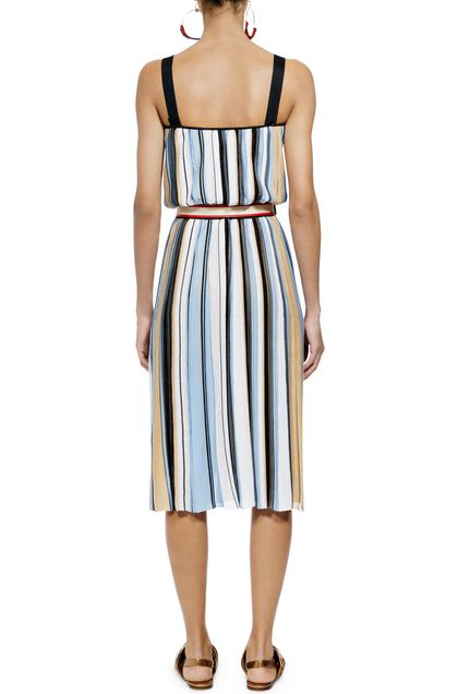 MISSONI Dress Sky blue Woman - Front