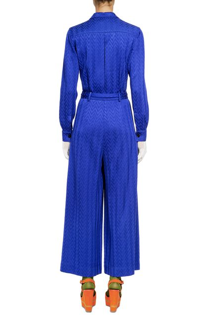 MISSONI Jumpsuit Bright blue Woman - Front