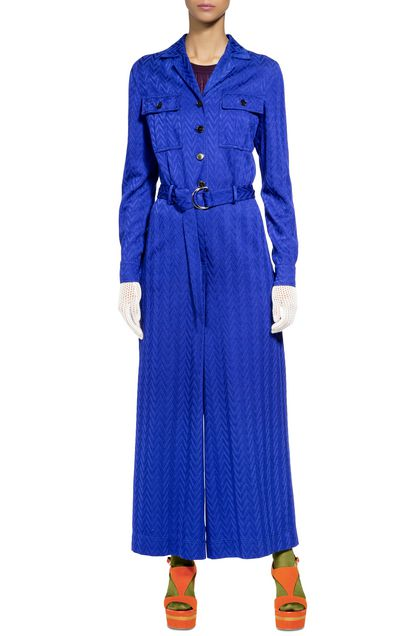 MISSONI Jumpsuit Bright blue Woman - Back