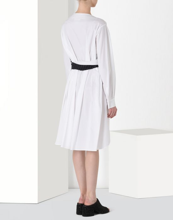 MM6 MAISON MARGIELA Layered cotton dress Short dress [*** pickupInStoreShipping_info ***] d