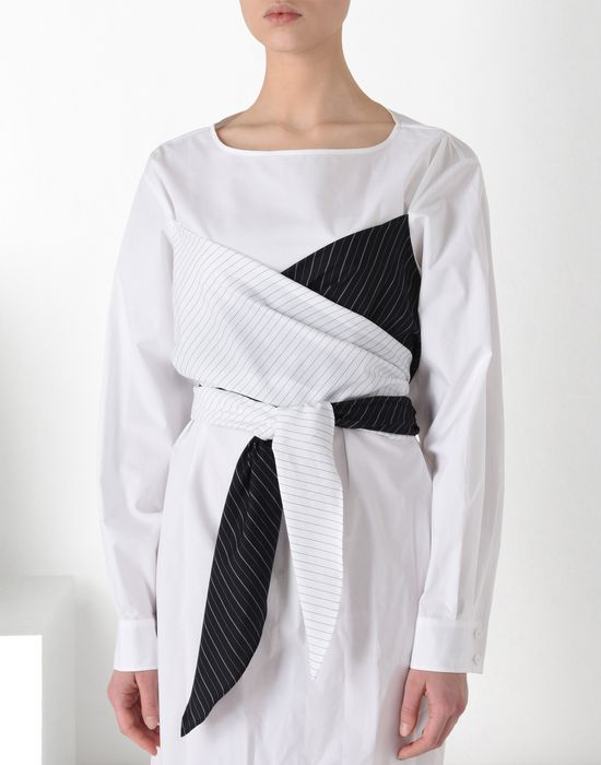 MM6 MAISON MARGIELA Layered cotton dress Short dress [*** pickupInStoreShipping_info ***] e