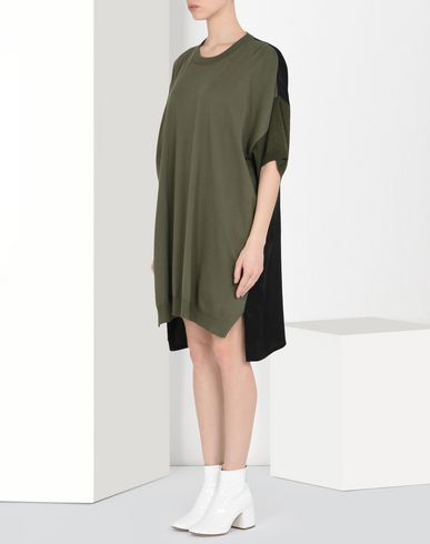 MM6 MAISON MARGIELA Short dress Woman Oversized T-shirt dress f