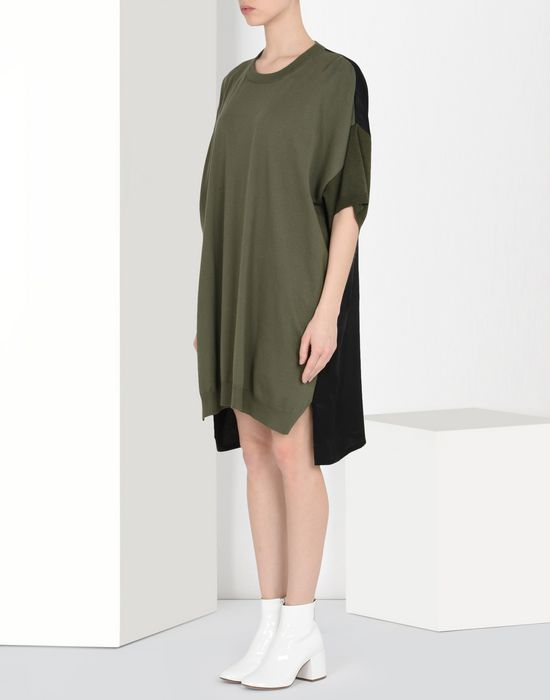 MM6 MAISON MARGIELA Oversized T-shirt dress Short dress Woman f
