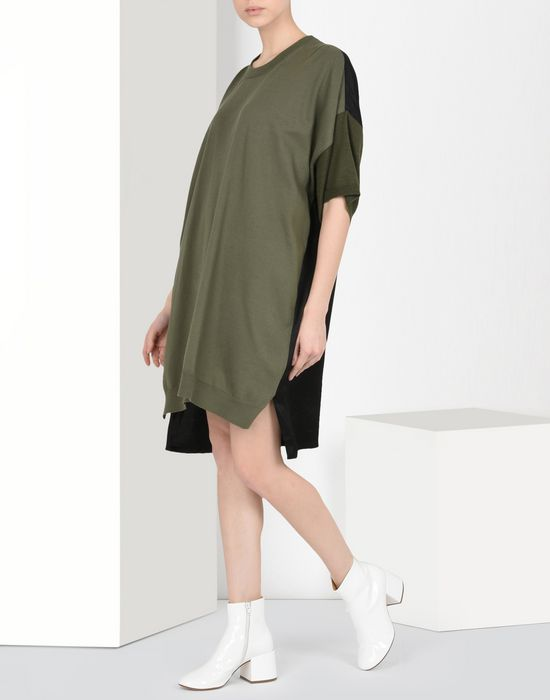MM6 MAISON MARGIELA Oversized T-shirt dress Short dress Woman r