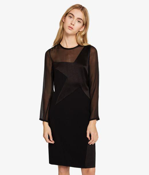 KARL LAGERFELD Mat & Shine Star Dress 12_f
