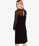 KARL LAGERFELD Matte & Shine Star Dress 8_r