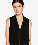 KARL LAGERFELD Sleeveless Tuxedo Dress 8_e