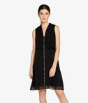 KARL LAGERFELD Sleeveless Tuxedo Dress 8_f