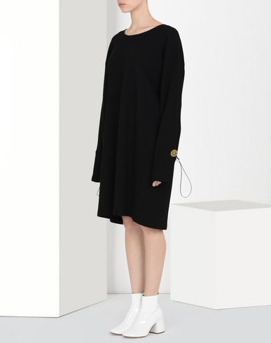 MM6 MAISON MARGIELA T-shirt dress with oversized sleeves Short dress D f