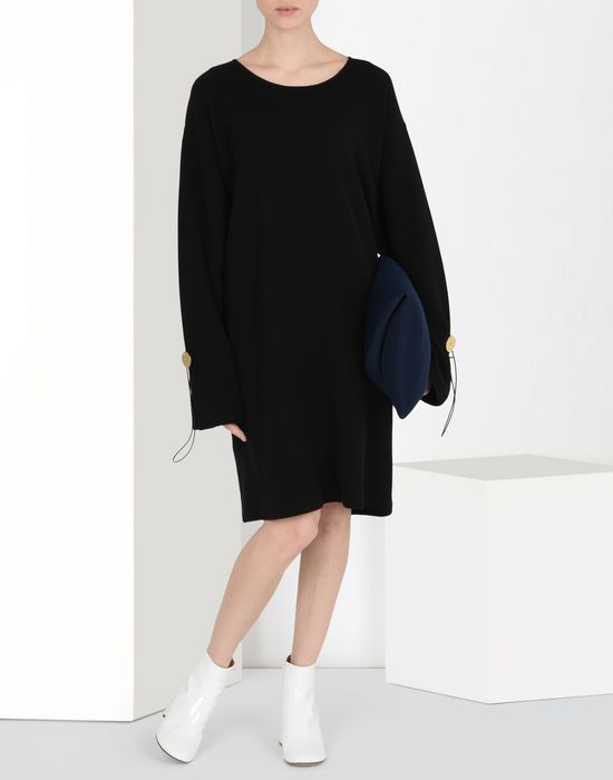 MM6 MAISON MARGIELA T-shirt dress with oversized sleeves Short dress [*** pickupInStoreShipping_info ***] r