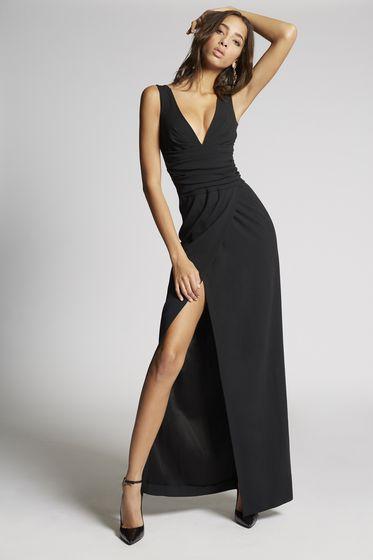 DSQUARED2 Long dress Woman S75CU0729S44019900 m
