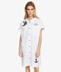 KARL LAGERFELD Captain Karl Patch Shirt Dress 8_f
