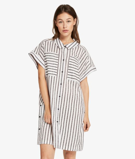 KARL LAGERFELD Captain Karl Stripe Dress 12_f