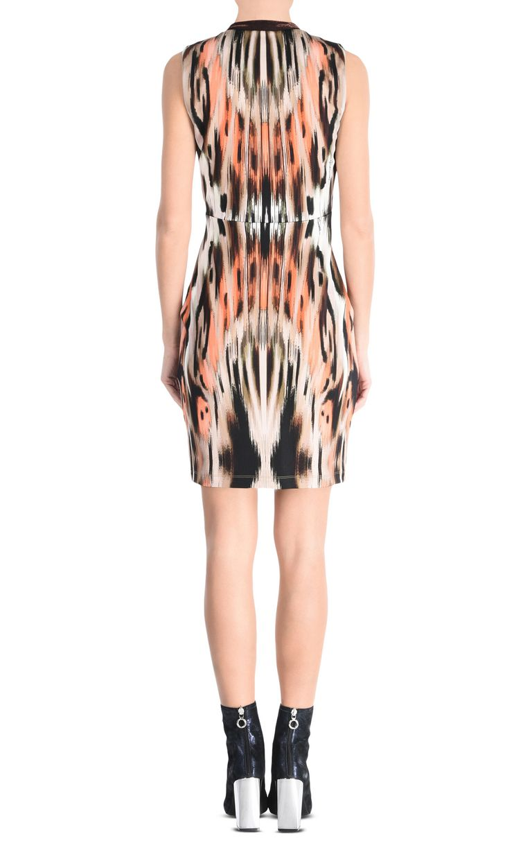 JUST CAVALLI Ikat Butterfly shift dress with wide straps Short dress [*** pickupInStoreShipping_info ***] d