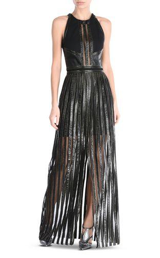 JUST CAVALLI Long dress Woman Long pleated dress f