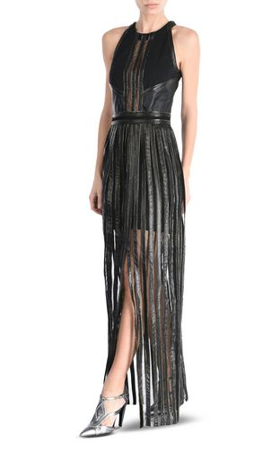 JUST CAVALLI Long dress Woman Long pleated dress r