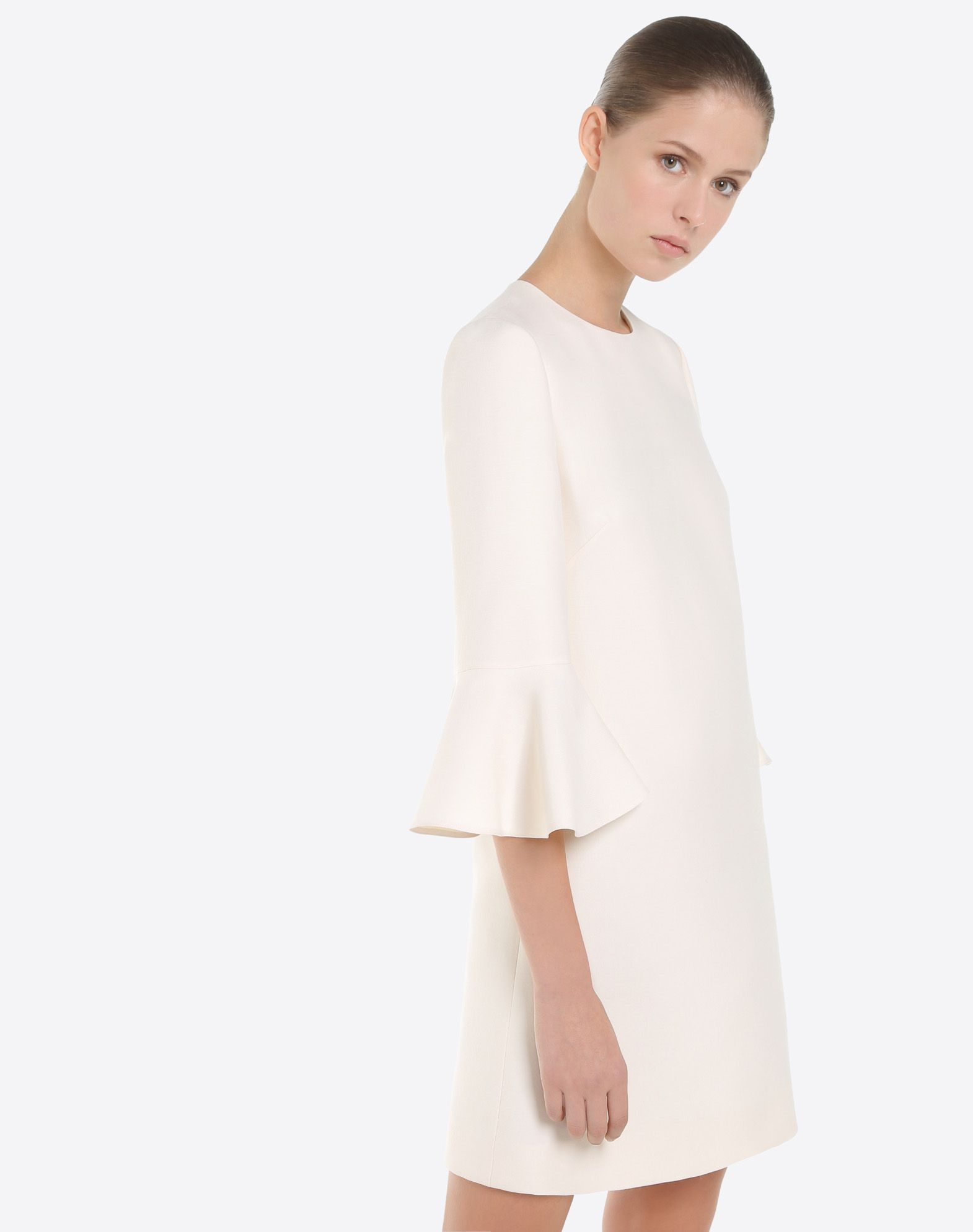 VALENTINO Crêpe couture dress Dress D a
