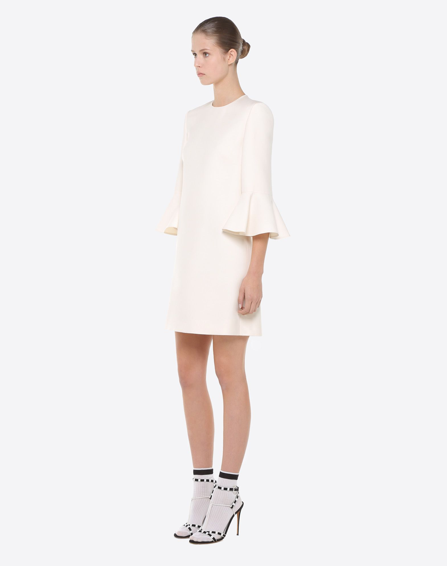 VALENTINO Crêpe couture dress Dress D d