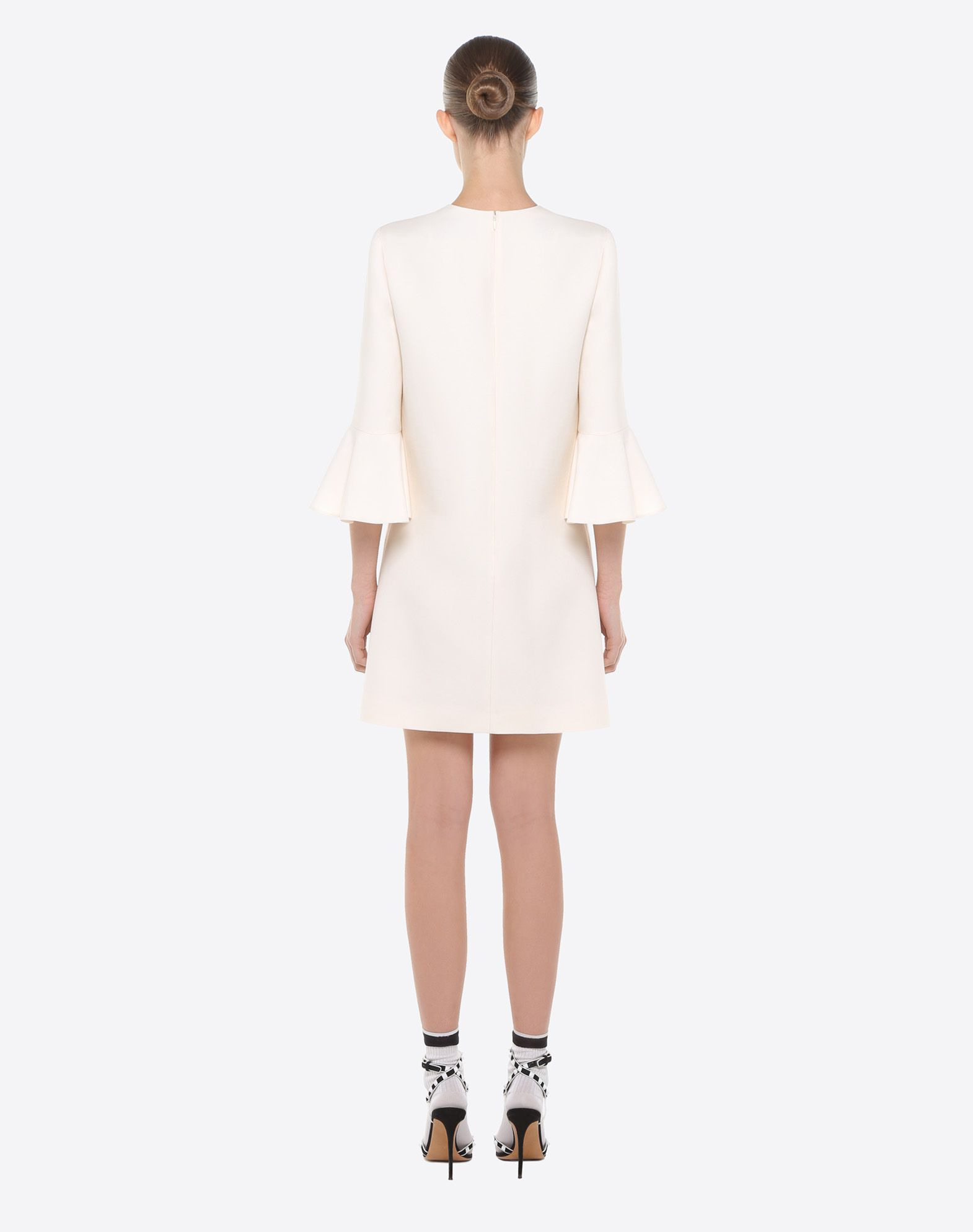 VALENTINO Crêpe couture dress Dress D e