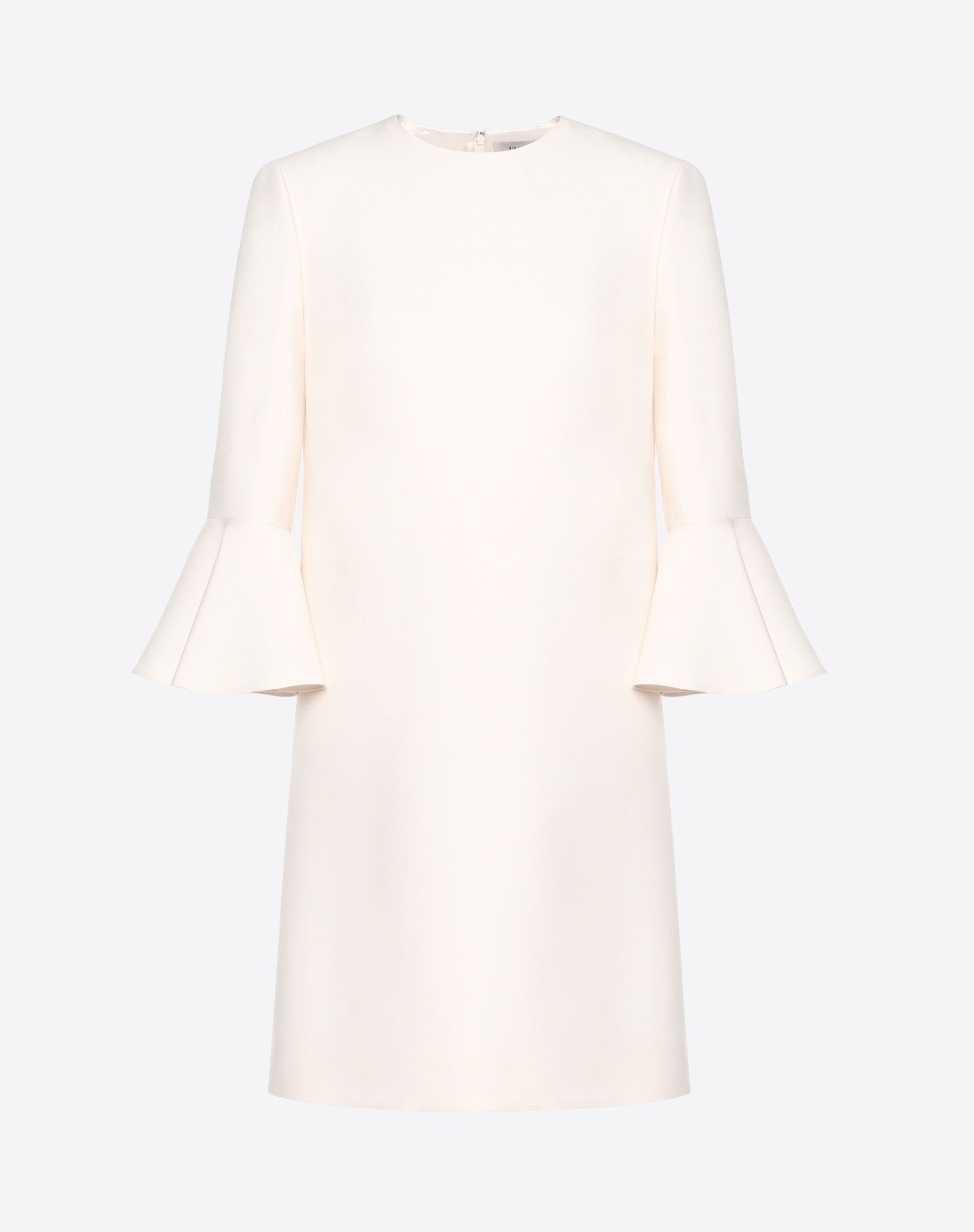 VALENTINO Crêpe couture dress Dress D f