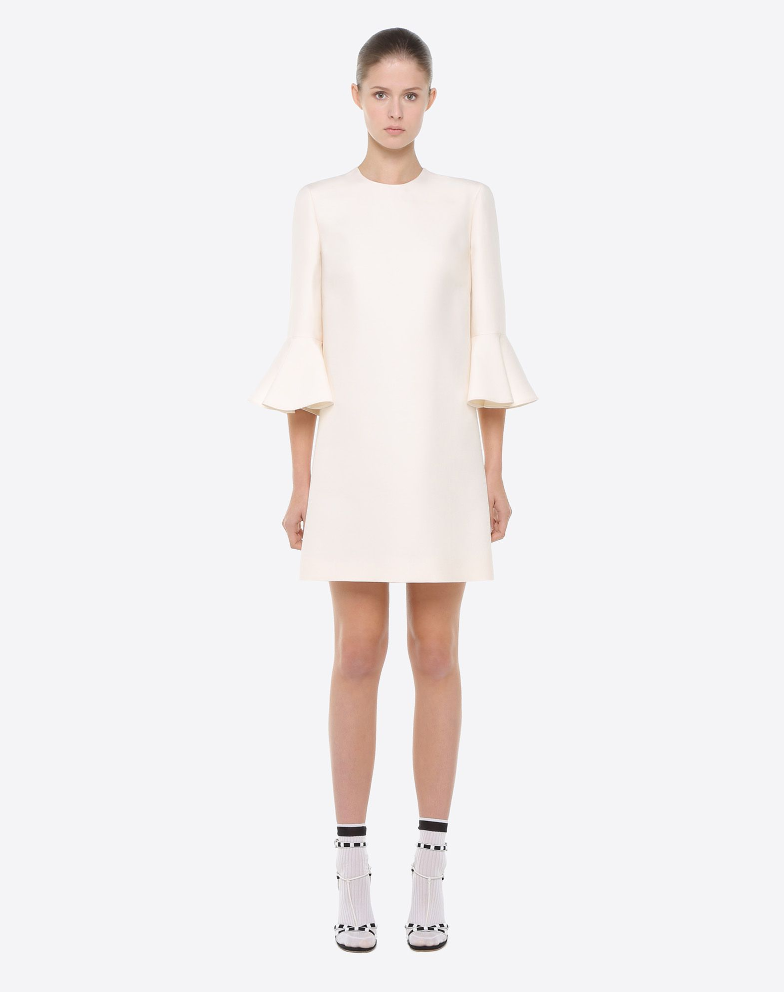 VALENTINO Crêpe couture dress Dress D r