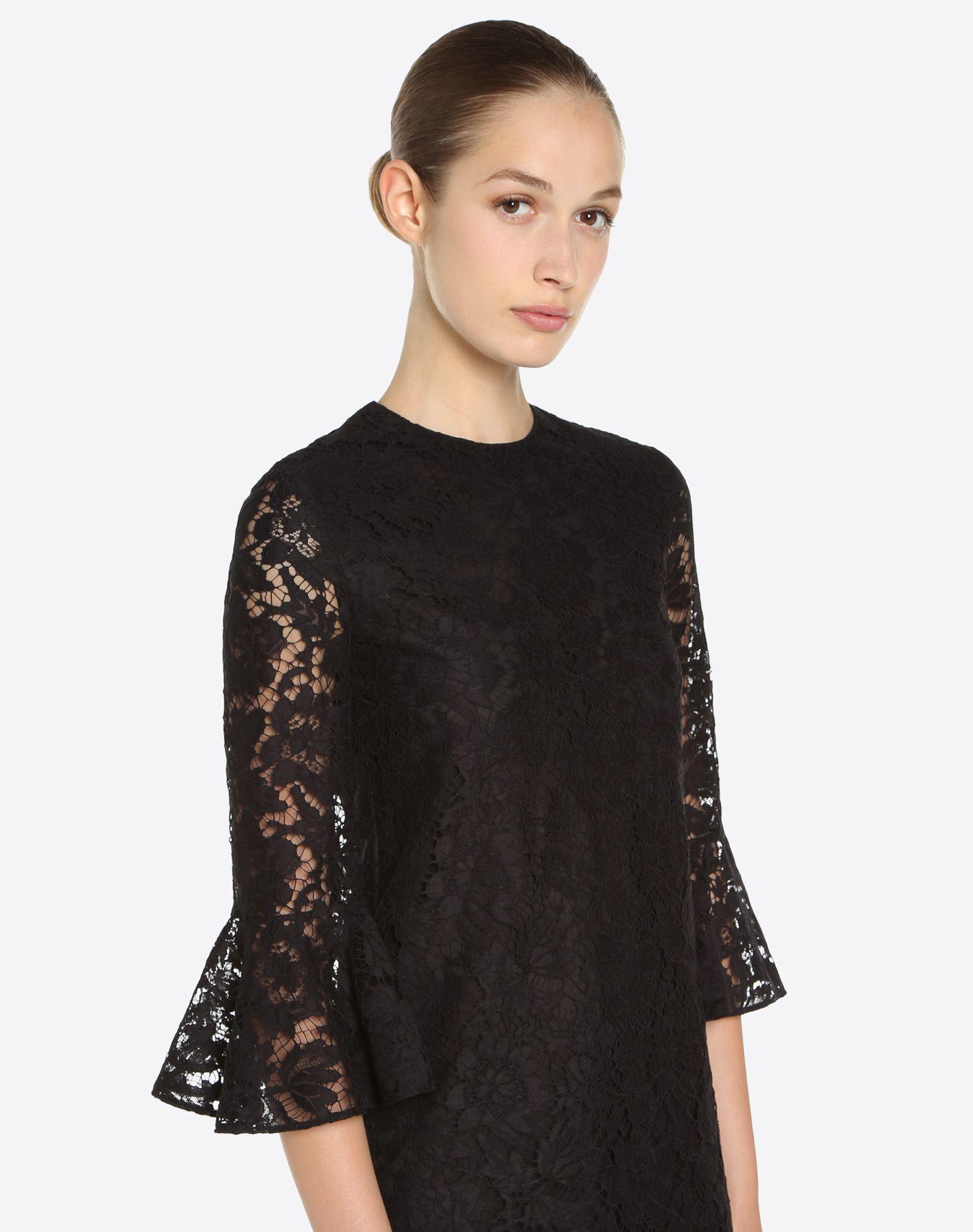 VALENTINO Heavy lace dress Dress D a