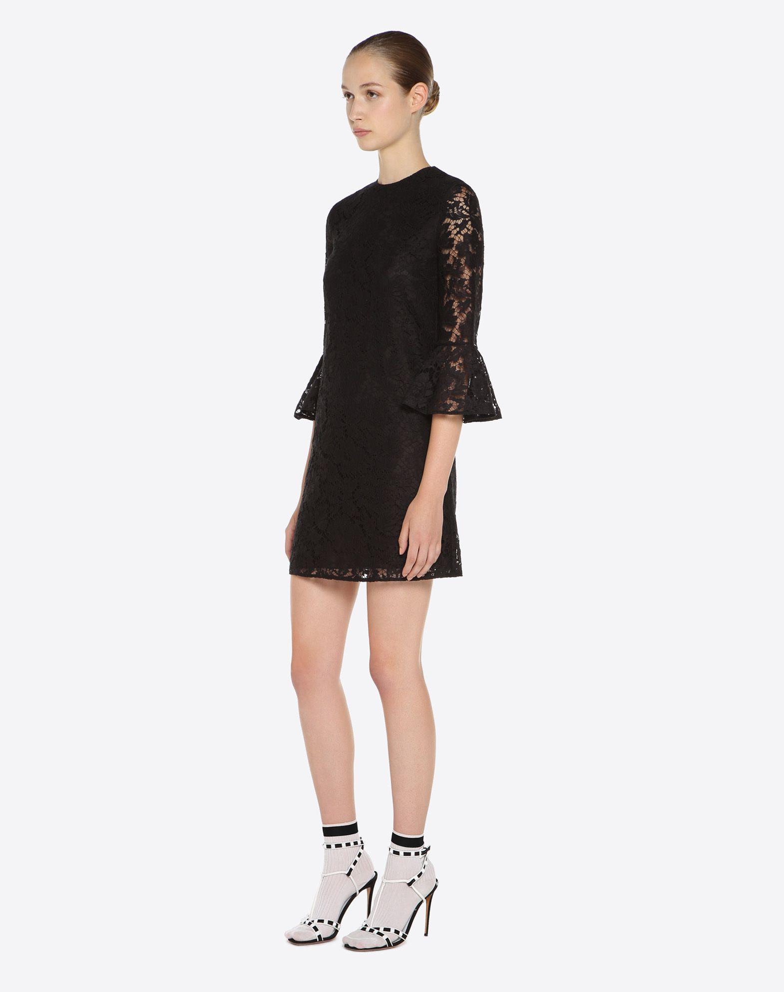 VALENTINO Heavy lace dress Dress D d