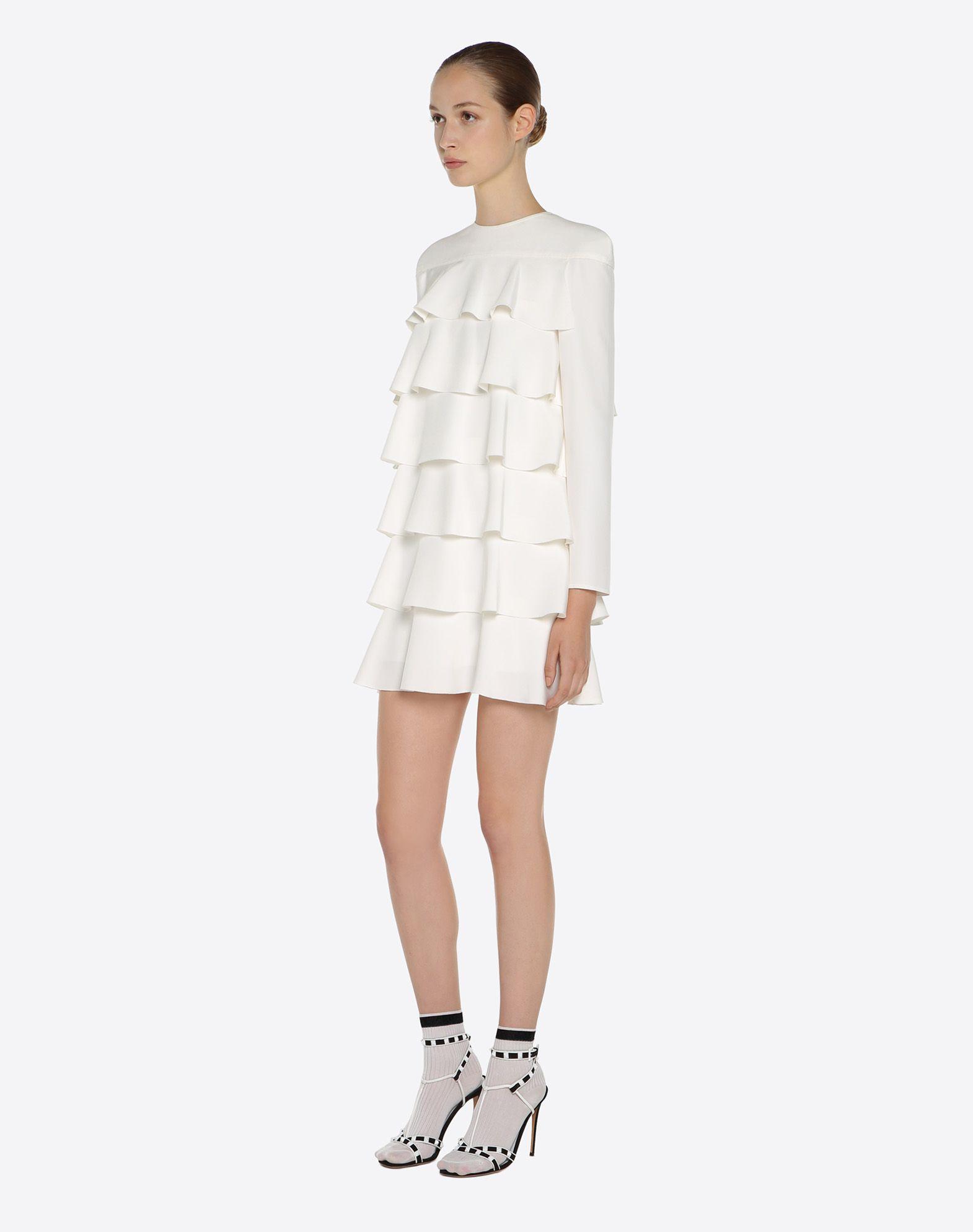 VALENTINO Silk drap dress Dress D d