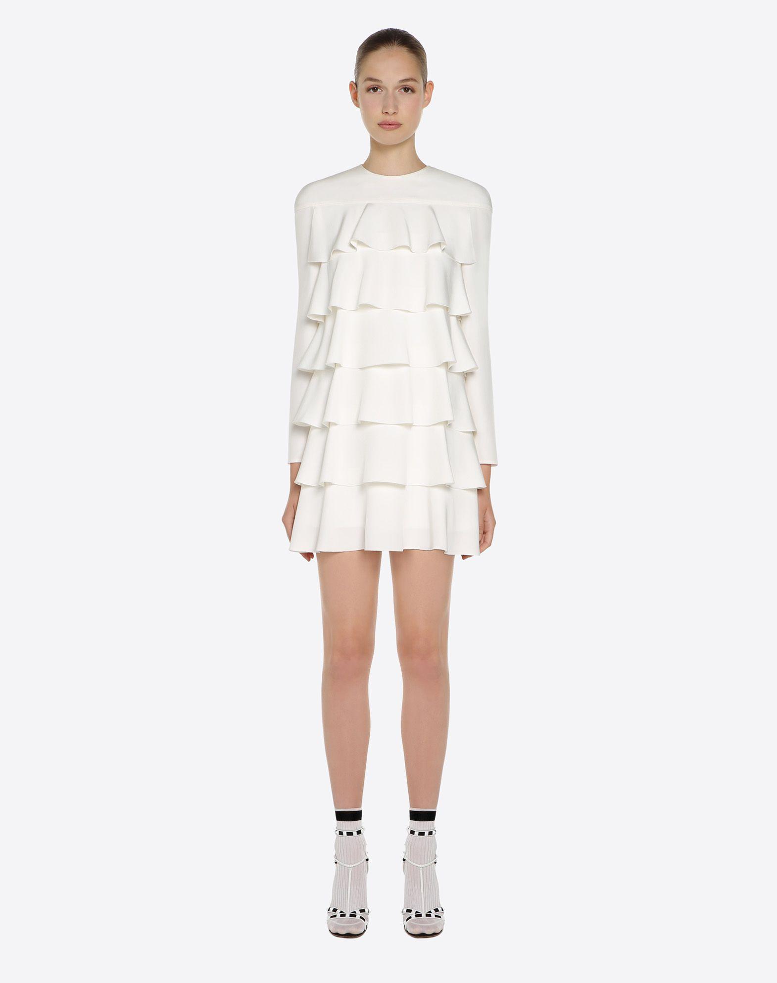 VALENTINO Silk drap dress Dress D r