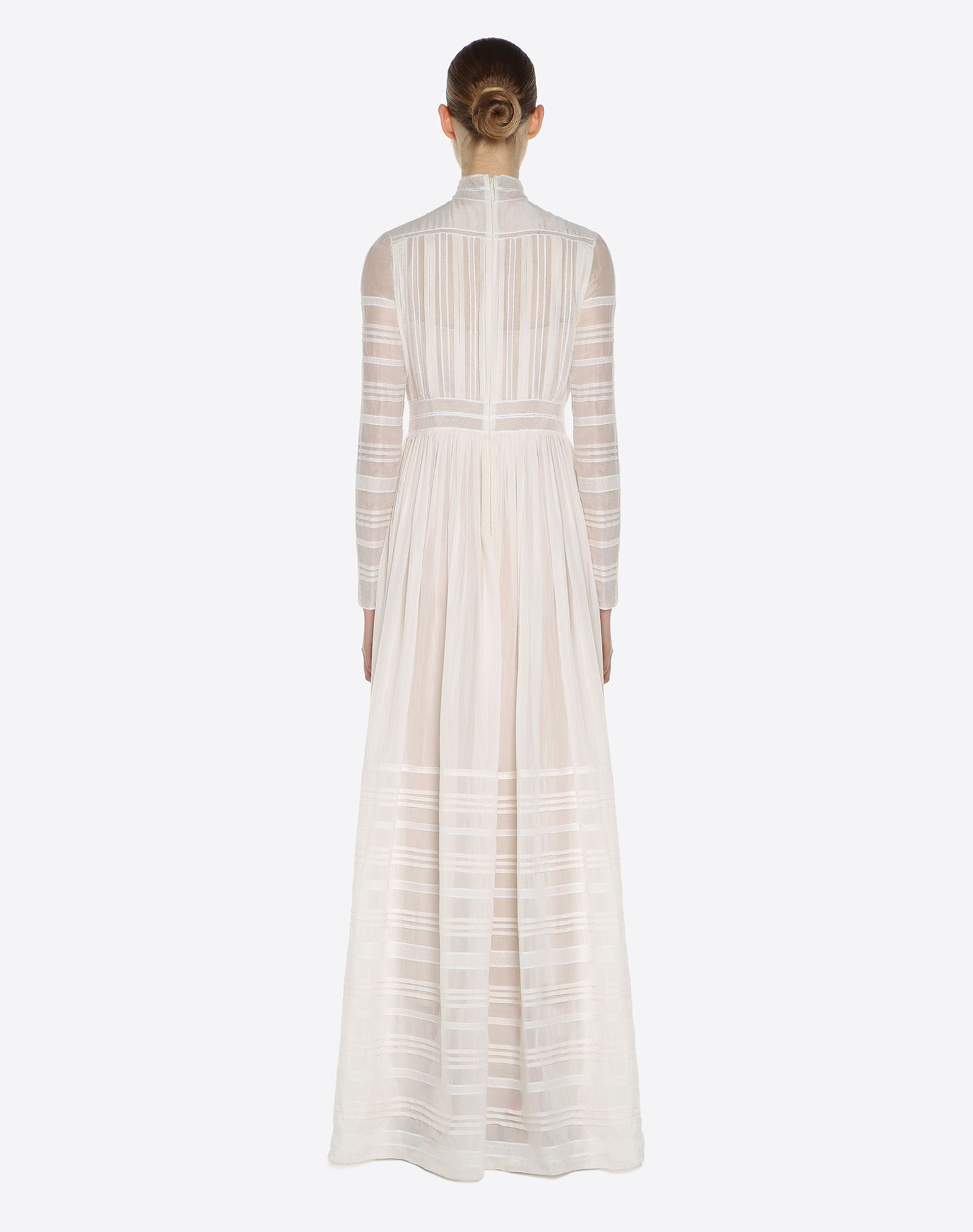 VALENTINO Invisible voile evening dress Gown D e