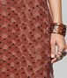 BOTTEGA VENETA DARK HIBISCUS VISCOSE DRESS Dress Woman ap