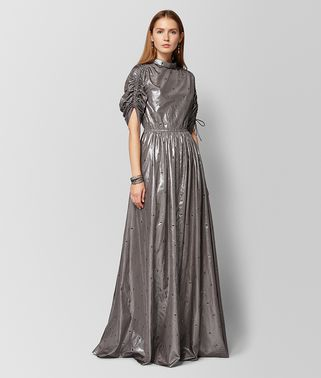 STEEL SILK DRESS