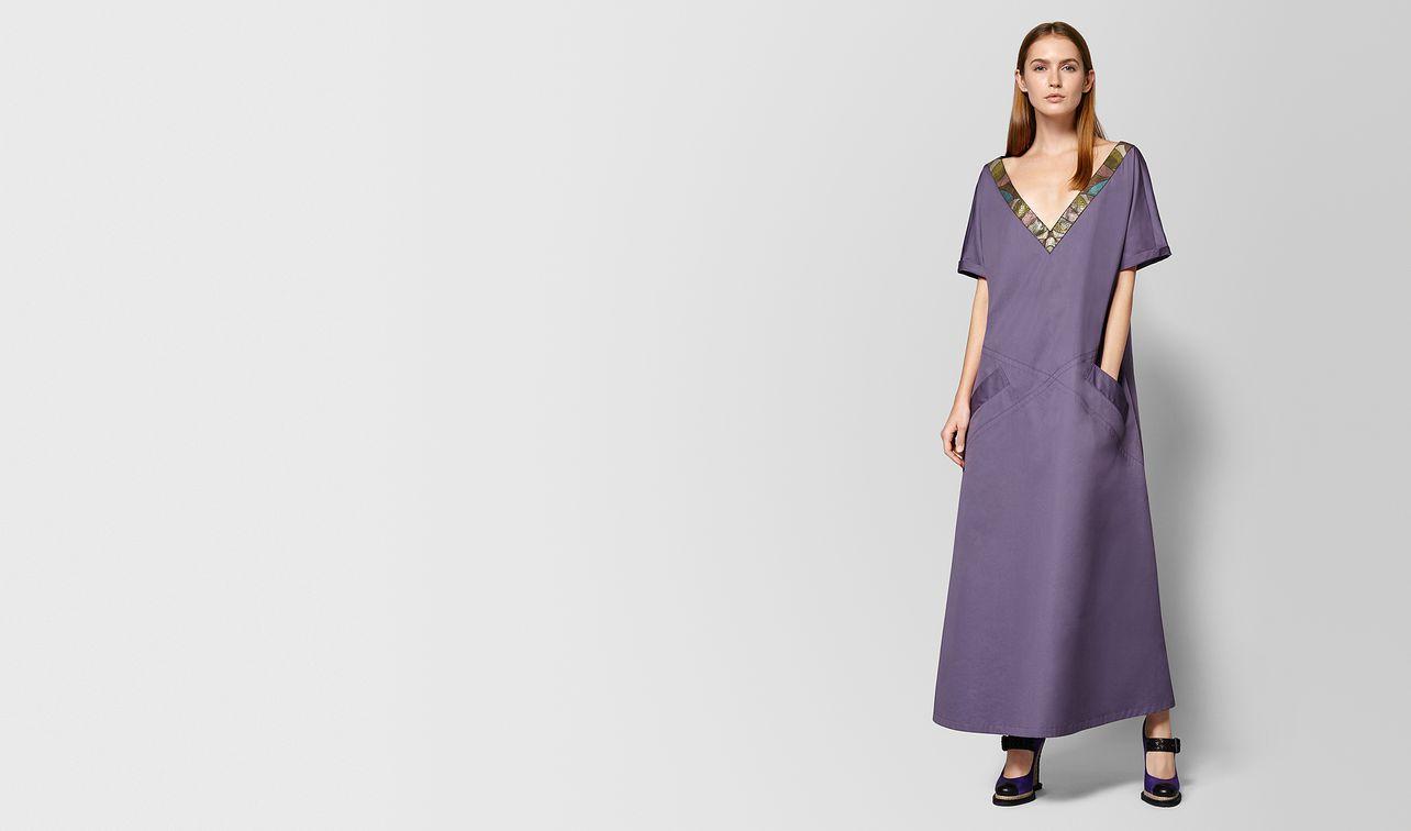 abito in cotone ayers dark lilac landing