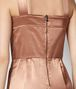 BOTTEGA VENETA PLAYSUIT IN VINTAGE SATIN DAHLIA Abito Donna ep
