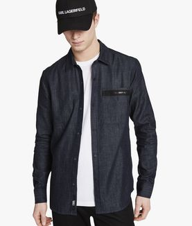 KARL LAGERFELD DENIM SHIRT