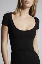 DSQUARED2 Compact Jersey Dress 3/4 length dress Woman