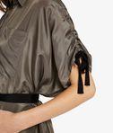 KARL LAGERFELD Silk Maxi Shirt Dress 8_e