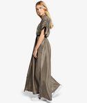 KARL LAGERFELD Silk Maxi Shirt Dress 8_r