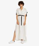 KARL LAGERFELD Silk Maxi Shirt Dress 8_f