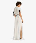 KARL LAGERFELD Silk Maxi Shirt Dress 8_r
