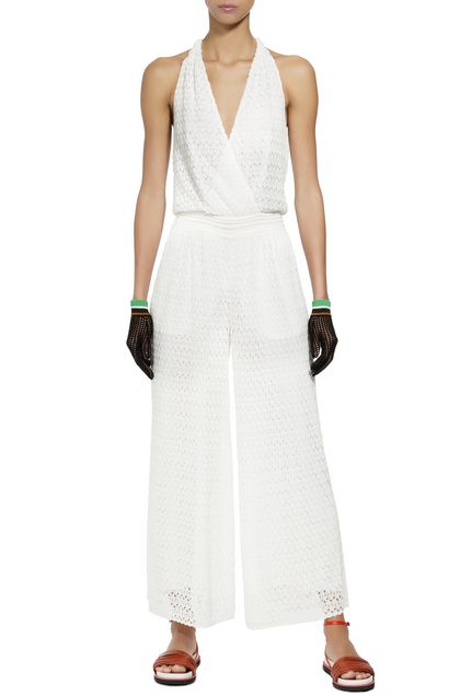 MISSONI Jumpsuit Ivory Woman - Back