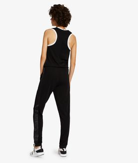 KARL LAGERFELD RELAXED CREPE JERSEY JUMPSUIT