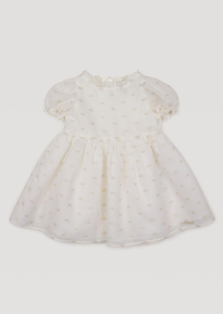 dirt cheap coupon code detailed images Kleid mit Puffärmeln | Mädchen | Armani Junior