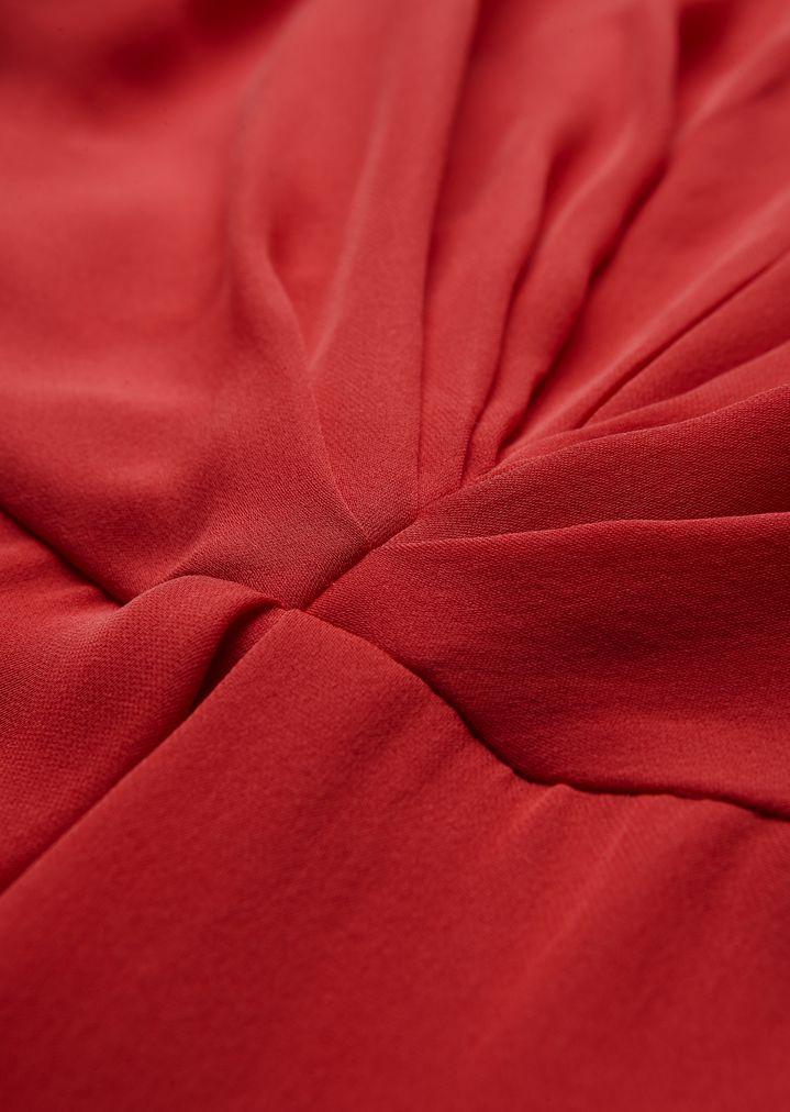 GIORGIO ARMANI Silk dress with gathered detailing Dress Woman b