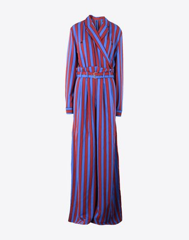 MAISON MARGIELA Jumpsuit Woman Oversized stripe jumpsuit f