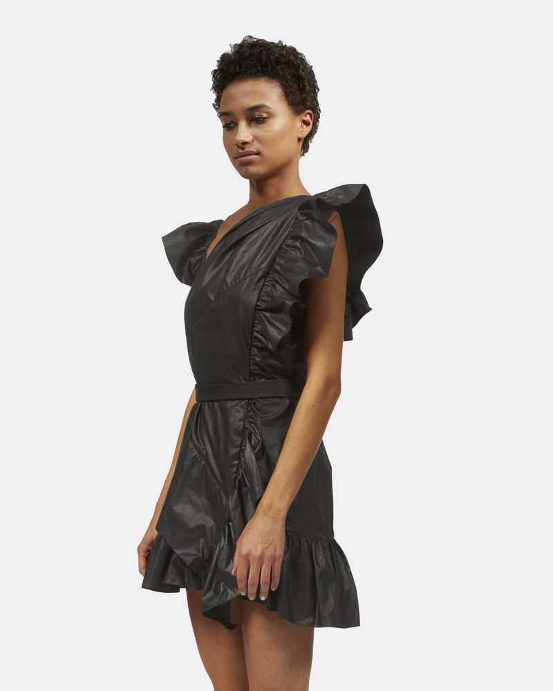 MALVERN ruffle dress ISABEL MARANT