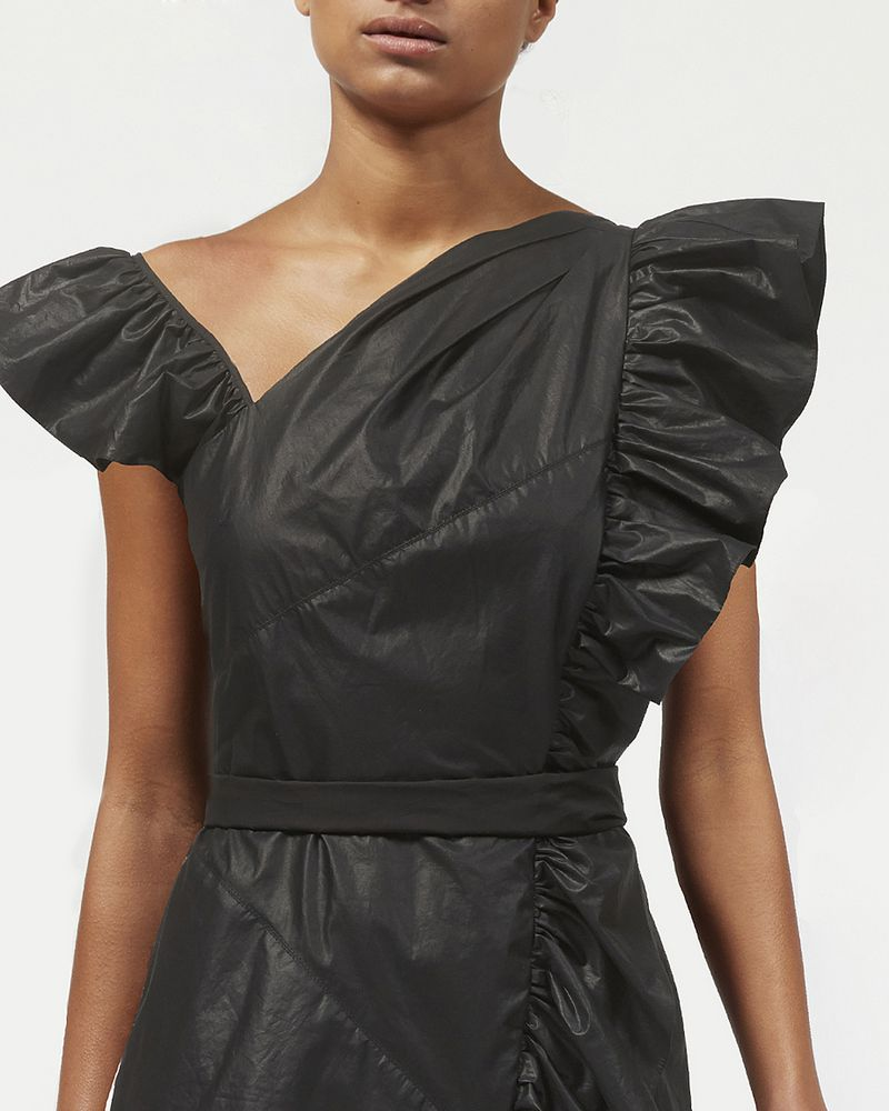 MALVERN ruffle dress ISABEL MARANT