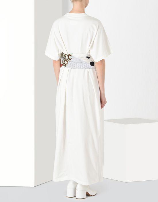 MM6 MAISON MARGIELA Cotton T-shirt dress with contrasting panels Long dress [*** pickupInStoreShipping_info ***] d