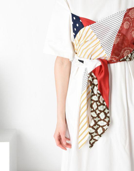 MM6 MAISON MARGIELA Cotton T-shirt dress with contrasting panels Long dress [*** pickupInStoreShipping_info ***] e