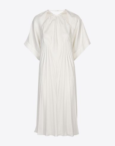 MAISON MARGIELA Short dress Woman Long pleated dress f